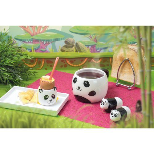 Keramický hrneček s víčkem Panda