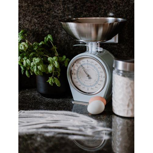 Mechanická kuchyňská váha Vintage blue - 4 kg