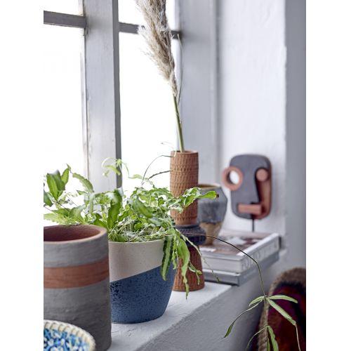 Keramický obal na květináč Noak Blue