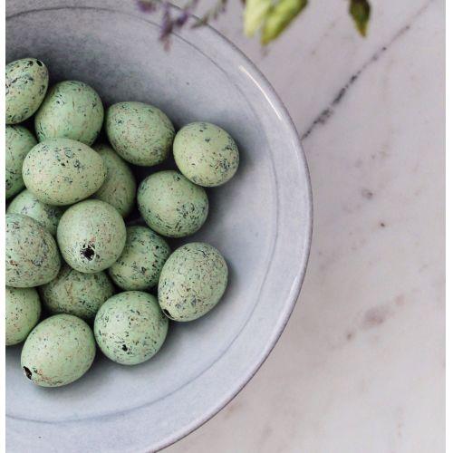 Dekorativní křepelčí vajíčka Green - 20 ks