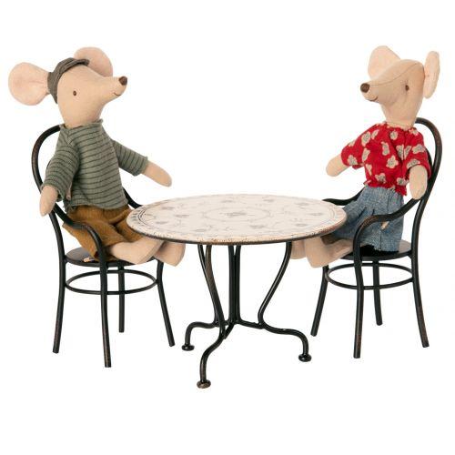 Set stolečku a židliček pro zvířátka Maileg