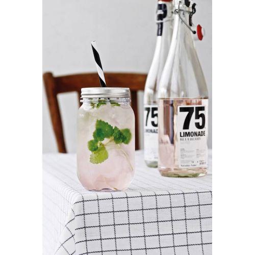 Nádobka na nápoj se slámkou 550 ml