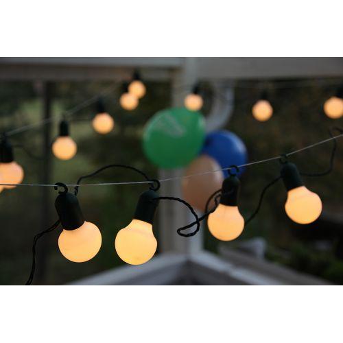 Světelný řetěz 20 LED White Bulbs