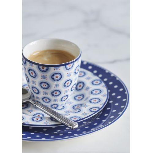 Porcelánový talíř Spot Blue