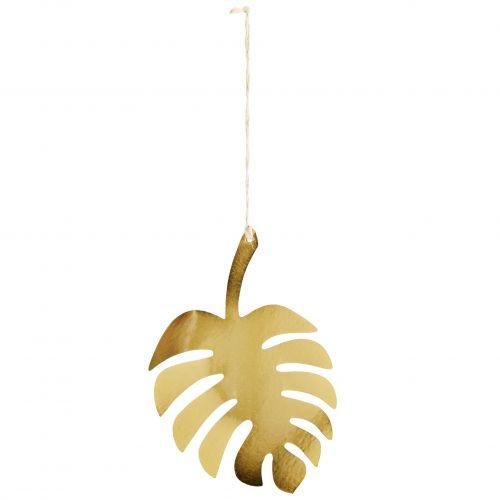 Závěsná dekorace Gold Monstera