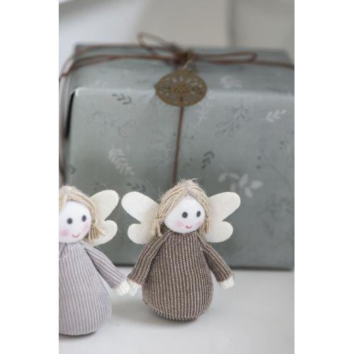 Látkový andílek My Nostalgic Christmas 8 cm