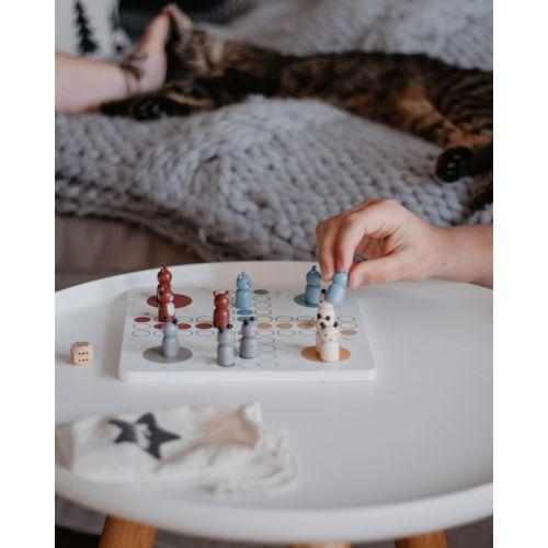 Dřevěná dětská hra Člověče nezlob se!
