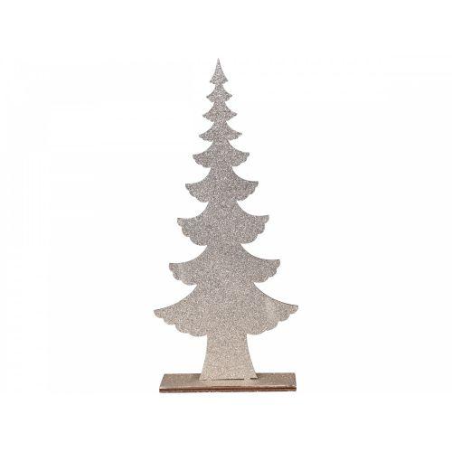 Dekorativní stromeček Champagne Glitter 25 cm