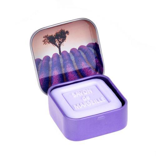Mini mýdlo v krabičce - Lavande 25g