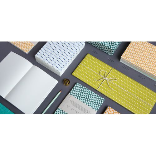 Balicí papír Dash Green - 50 x 70 cm