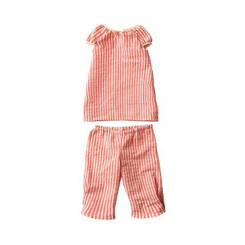 Králičí slečna v pyžamu 53cm