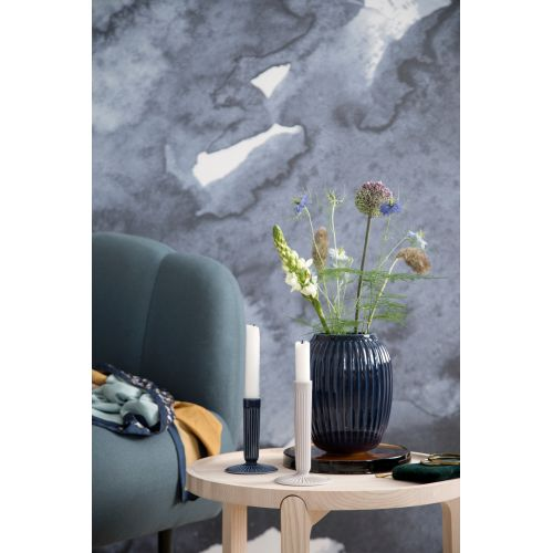 Keramická váza Hammershøi Indigo 21,5 cm