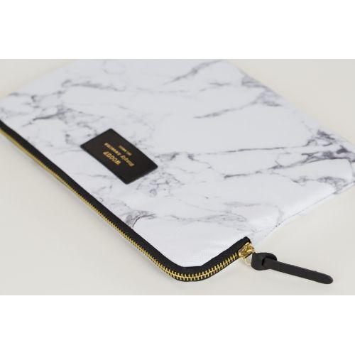 Obal na iPad White Marble
