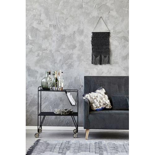 Bavlněný kobereček Karma Grey 90x200cm