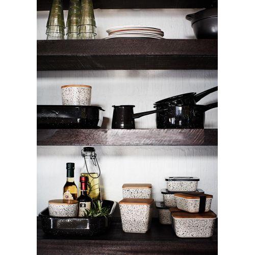 Úložné dózy do kuchyně Rectangular Containers set 3 kusů