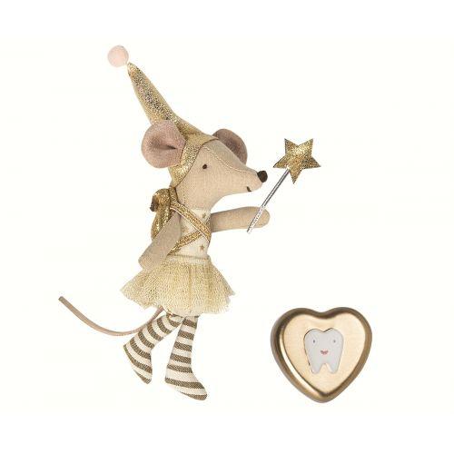 Myška Zoubková víla + plechová krabička