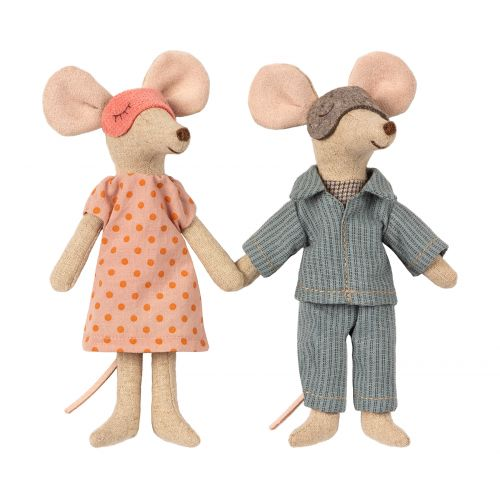 Myšky v krabičce - máma a táta