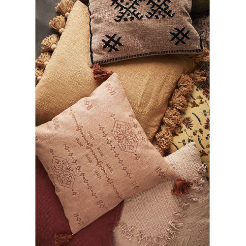 Bavlněný povlak na polštář Chenille 50×50 cm