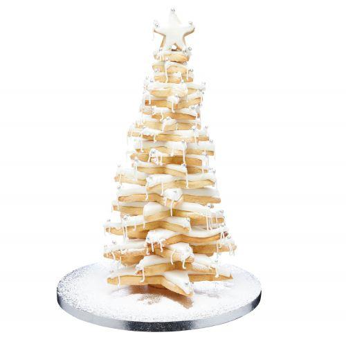 3D vánoční stromek - sada 6 vykrajovátek