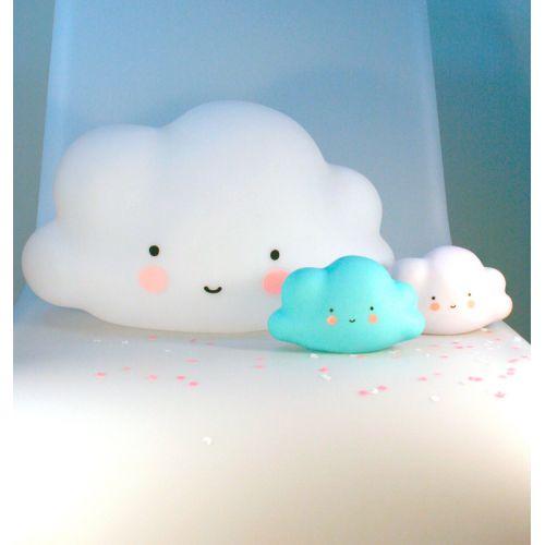 Noční LED lampička Mini Cloud Blue