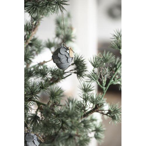 Závěsná vánoční dekorace Cone