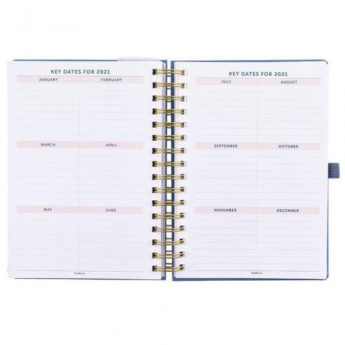 Plánovací diář na 17 měsíců Pretty Life Planner