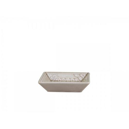 Porcelánová mýdlenka Ornament Latte