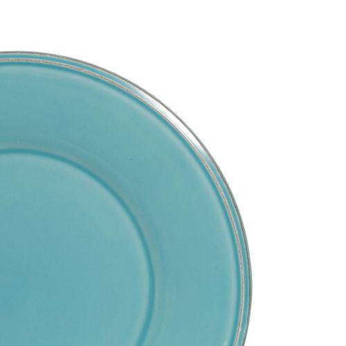 Dezertní talíř Constance Turquoise 23,5 cm