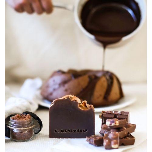 Přírodní mýdlo Gold Chocolate