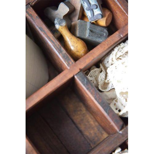 Dřevěný box s přihrádkami Old Wood