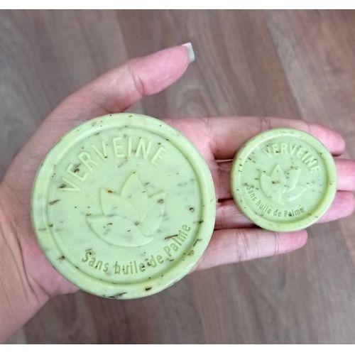 Rostlinné exfoliační mýdlo Máta z Provence 100 g