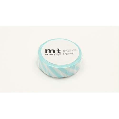 Japonská papírová páska Mint Stripe