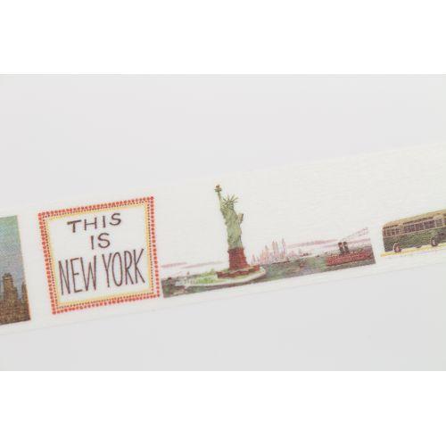 Designová samolepicí páska Miroslav Šašek - This is New York