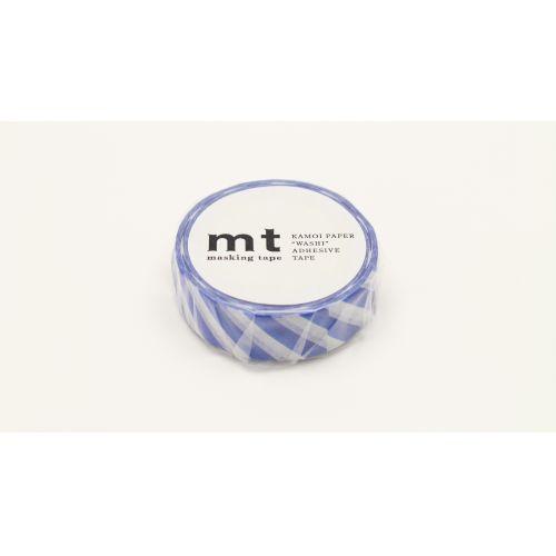 Japonská papírová páska Stripe Blue