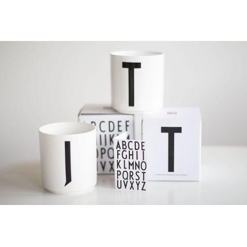 Porcelánový hrneček/dózička Letters