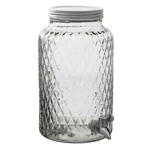 Skleněná nádoba na nápoje - 6 L