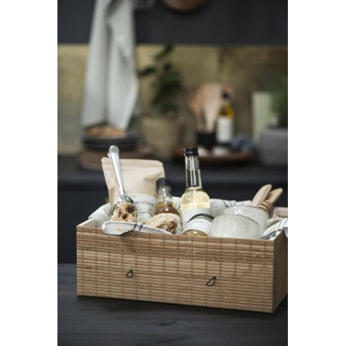 Úložný bambusový box Natural