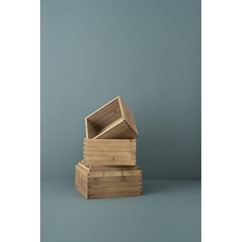 Dřevěný box Woodstock - menší