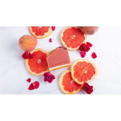 Přírodní mýdlo Růžový Grep