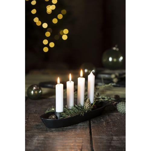 Adventní kovový svícen Advent Candle Holder