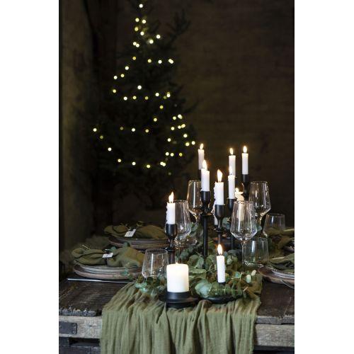 Bavlněný přehoz Double Weaving Olive
