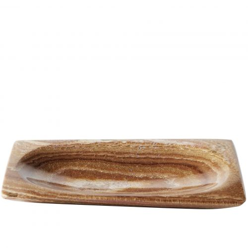 Dekorativní tácek Tiger Stone 11 x 16 cm