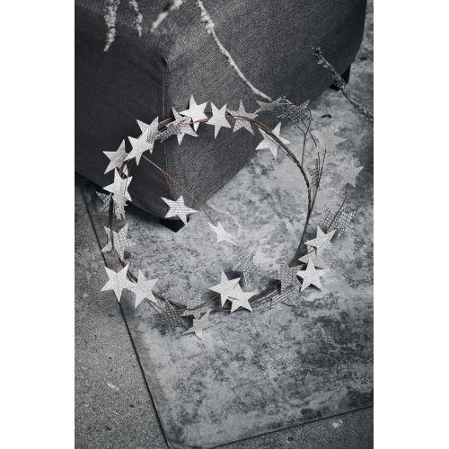 Vánoční věnec Star Silver 50 cm