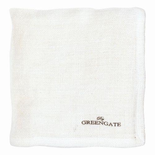 Látkový ubrousek Heavy linen white
