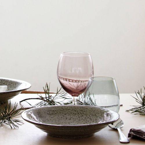 Sklenice na víno Dusty Violet