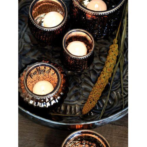 Svícínek Crown Antique Mocca