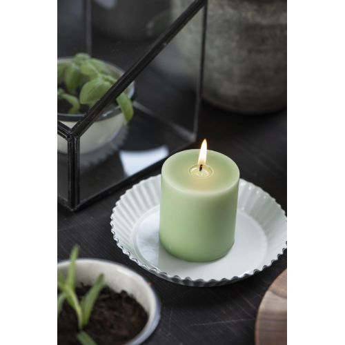 Svíčka Light Green 7 cm