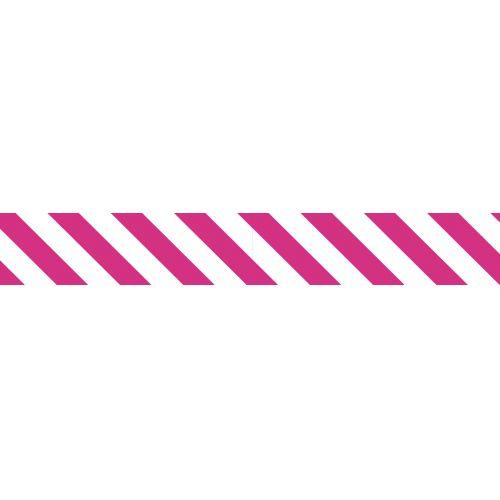 Japonská papírová páska Magenta Stripe