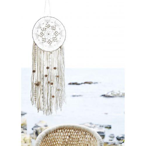Lapač snů s korálky White
