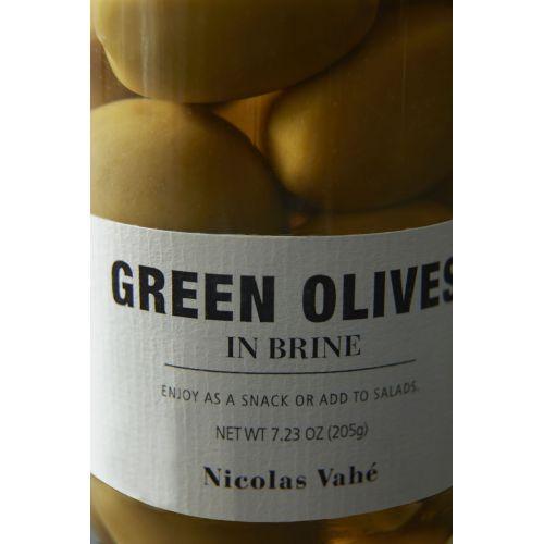 Zelené olivy v nálevu 205 g